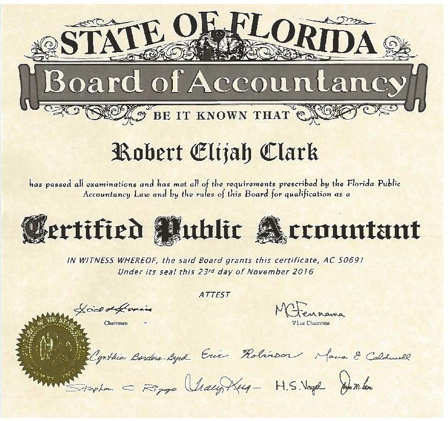 Robert Clark CPA